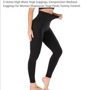 0463 5 inches High Waist Yoga Leggings Compression